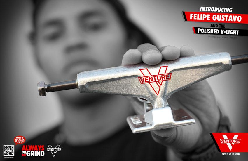 Venture Proudly Welcomes Felipe Gustavo