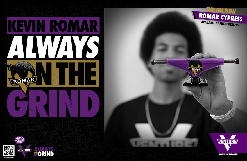 Kevin Romar Always on the Grind