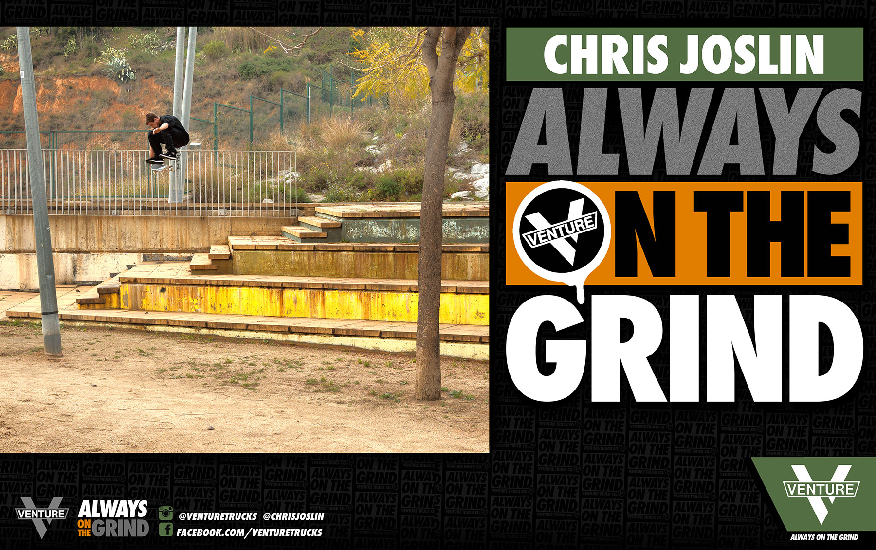 Chris Joslin Always on the Grind