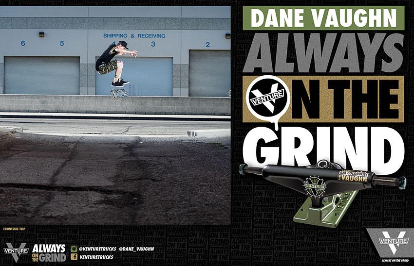 Dane Vaughn Always on the Grind